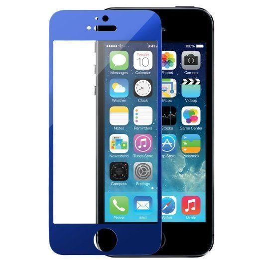 Tempered glass screen protector for the iPhone 5s