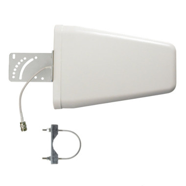 """Wilson 304475 Outside 75 Ohm Directional Antenna WideBand 700-2500 MHz, with 2"""" inch pole mount"""