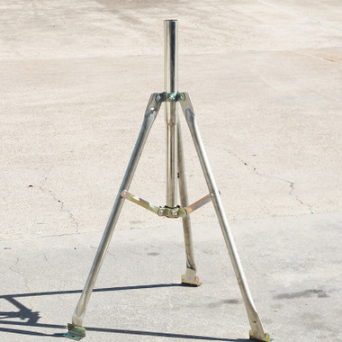 3-Ft Tripod Antenna Mount with 2-Inch O.D. Mast