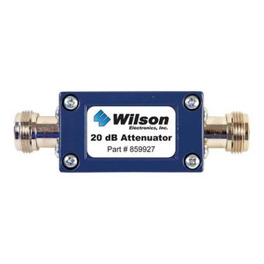 Wilson 859927 20 dB Attenuator w/ N Female Connectors