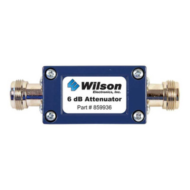 Wilson 859936 6 dB Attenuator w/ N Female Connectors, main image