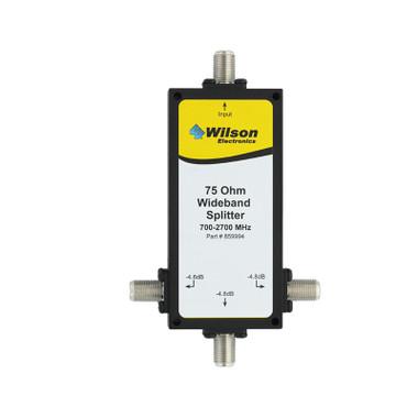 Wilson 859994 3-Way Splitter 75 Ohm, Front