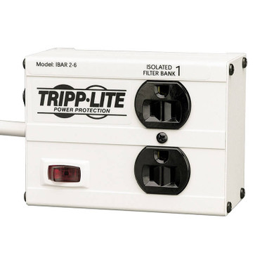 Tripp Lite Isobar 2 Outlet Surge Protector Power Strip