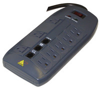DTK-8FF DiTek Surge Suppressor 8 Outlet Strip - Qty. 1