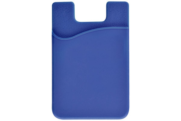 huge selection of fbe6d acc2b 1860-5003 Blue Silicone Cell Phone Wallet with 3M Adhesive - Qty. 100