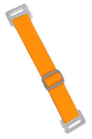 2145-2013 Neon Orange Antimicrobial Adjustable Elastic Arm Band Strap - Qty. 100