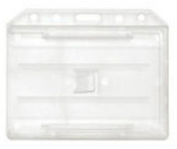 1840-3050 Clear Molded Rigid Plastic Two-Sided Multi-Card Holder - Qty.100