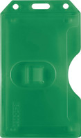 1840-3084 Green 2-sided Vertical Multi-card Holder - Qty. 100