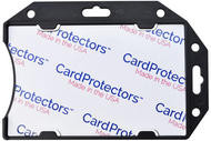 1840-5091 Black Rigid Shielded 1-Card Holder - Qty. 100