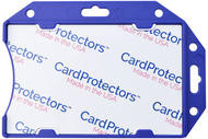1840-5092 Blue Rigid Shielded 1-Card Holder - Qty. 100