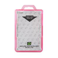 IDSH2004-001B-PNK Secure Badgeholder DuoLite - Pink - Qty. 10