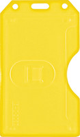 1840-3089 Yellow 2-sided Vertical Multi-card Holder - Qty. 100