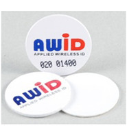 PW-AWID-0-0  AWID White Adhesive Proximity Wafer - Qty. 100