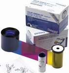 552854-520 Datacard Color Ribbon - YMCKTK - 375 prints.  Use with SP55+ & SP75+ Printers {map:127.28}
