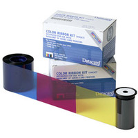 552854-530 Datacard ymcKT short panel color ribbon kit with inline topcoat - 650 Prints {map:101.5}