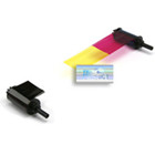 SIADC-YMCKO Nisca Smart YMCKO Color Ribbon, w/ cleaning roller {map:65}