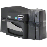 55010 Fargo DTC4500e ID Card Printer Single-Sided with Magnetic Stripe Encoding {map:3798}