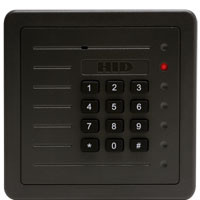 5355AGK00 HID ProxPro Proximity Reader Charcoal Gray with Keypad - Qty. 1