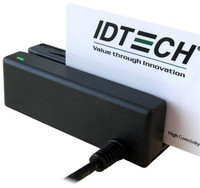 IDMB-334102B MiniMag-2 Black Magnetic Stripe Reader, USB with Keyboard Emulation, Track 2 - Qty. 1