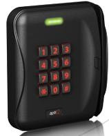 MTMSK15 Allegion™ (aptiQ™) Multi-Technology Magnetic Stripe Reader with Keypad - Qty. 1