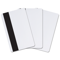 803229-034 Datacard Blank Cards with Hi-Co Magnetic Stripe - Qty. 500