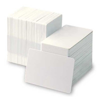 C4002 - Classic Blank White Cards- 20 mil - Qty. 500
