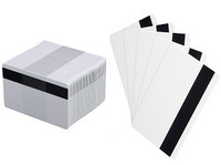 81762 Fargo Ultra Card III, 30 Mil, 60% PVC 40% PET with High Coercivity Magnetic Stripe - Qty. 500