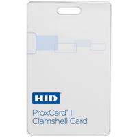 1326LGSMV HID ProxCard II Proximity Card with HID Logo, Matching Numbering & Vertical Slot - Qty. 100