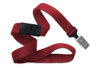 "2138-6006 Red 5/8"" Microweave Polyester Breakaway Lanyard W/ Slide Adapter - Qty. 100"