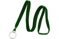 "BL-34R-GRN Green 3/8"" Lanyard With Breakaway And Ring"