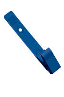 2115-2002 Royal Blue Delrin Plastic Strap Clip W/ Knurled Thumb-grip - Qty. 100