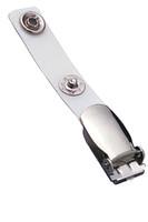 2120-1000 Reinforced Vinyl Strap Clip W/ NPS Suspender Clip - Qty. 100