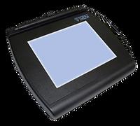 T-LBK766SE-BHSB-R Topaz SignatureGem 4x5 LCD Signature Capture Pad - Qty. 1