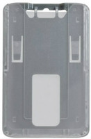 1840-6647 B-Holder Metallic Gray Rigid Vertical Holder - Qty. 100