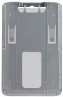 1840-6647 B-Holder Metallic Gray Rigid Vertical Holder - Qty. 100