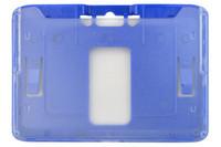 1840-6652 B-Holder Metallic Blue Rigid Horizontal Holder - Qty. 100