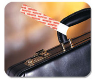 06709 Red Inspection Band - Pkg. of 1,000