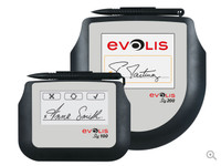 ST-CE1075-2-UEVL Evolis Sig200 Signature Pad, 5 Inch Interactive LCD - Qty.1