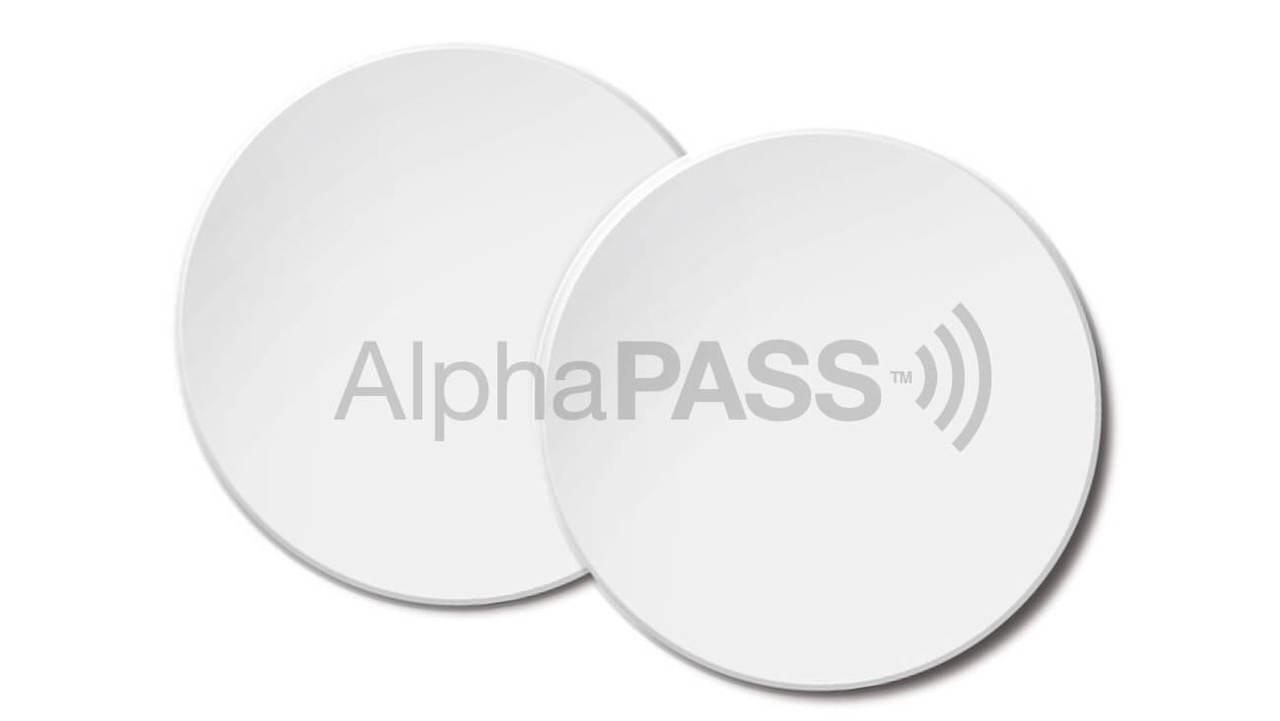 AlphaPass Proximity Adhesive TAg Loading Zoom