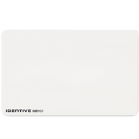 4020SPV Identive ISO Thin PVC Composite Proximity Card with Vertical Slot Punch - Qty. 100