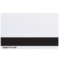 4030SPH Identive ISO Thin PVC Proximity Card with Magnetic Stripe & Horizontal Slot Punch - Qty. 100