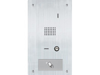 IS-SS-HID Aiphone Flush Mount Audio Only Door Station with HID Proximity Reader