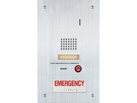 IS-SS-RA-R Aiphone Flush Mount Audio Sub Station -  Emergency Call Button