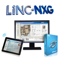 LiNC-NXG-XL PCSC Software 25,000 active cardholders, 128 reader capacity