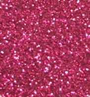 "Iron-on Hot Pink Glitter 19.75"" x 12"""