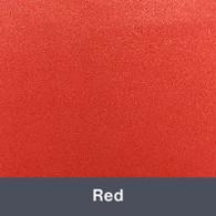 """Ultra Metallic Red 12"""" x 15"""""""