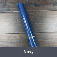 """Iron-on 14.75"""" x 36"""" (1yd) Navy"""