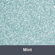 "Iron-on Mint Glitter 19.75"" x 12"""