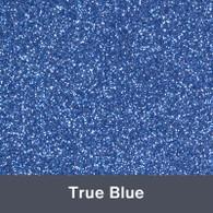 """Iron-on True Blue Glitter 19.75"""" x 12"""""""