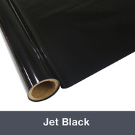 """Jet Black Textile  Foil 12"""" x 1 yd"""